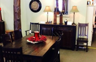 Reclaimed Dining Table & Sideboard