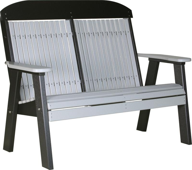 Classic bench loveseat fine oak things - Luxcraft fine outdoor furniture ...
