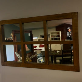 Reclaimed 6-Pane Mirror