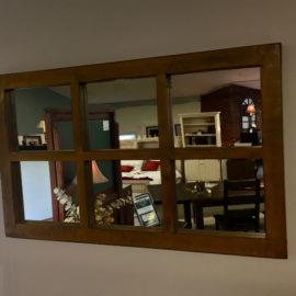 Reclaimed 6-Pane Mirror