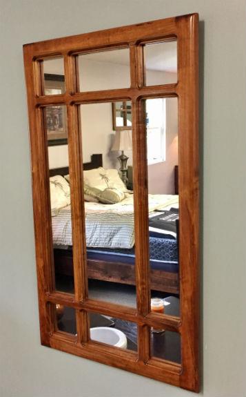 9-Pane Mirror