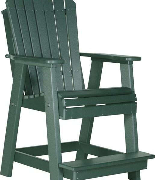 Adirondack Balcony Chair - Green