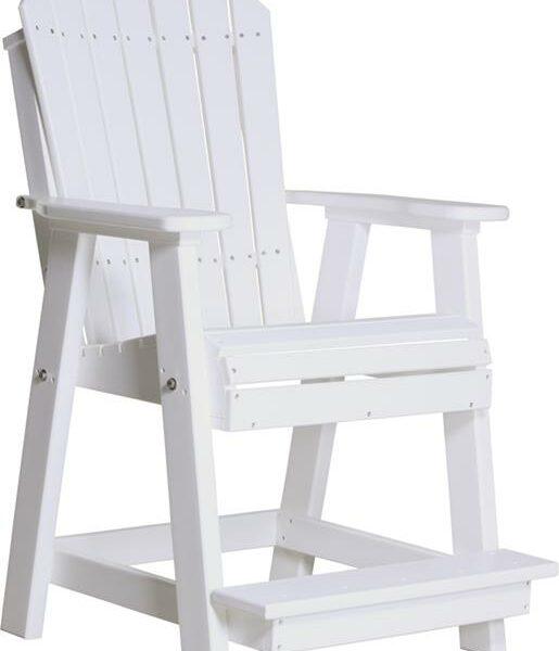 Adirondack Balcony Chair - White