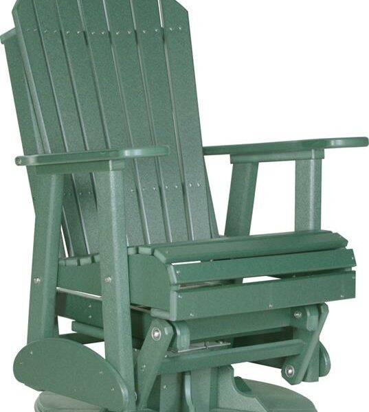 Adirondack Swivel Glider - Green