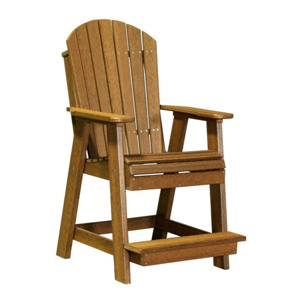 Adirondack Balcony Chair - Antique Mahogany