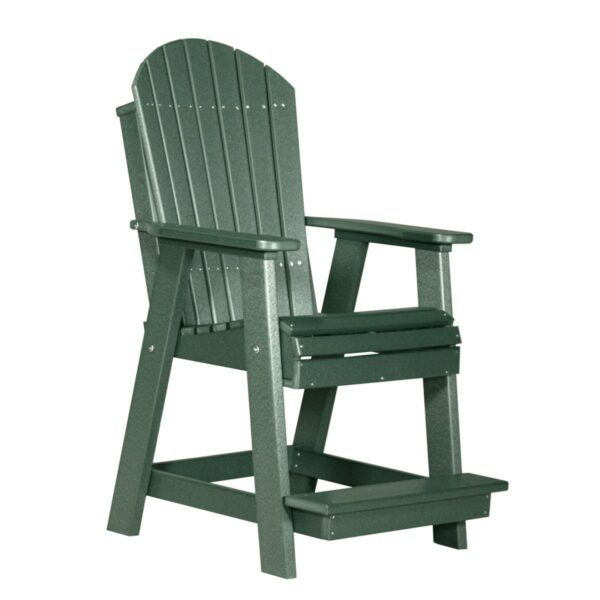 Adirondack Balcony Chair - Green