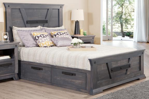 Mennonite Storage Bed