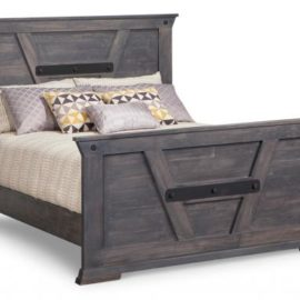 Solid Wood Mennonite Bed