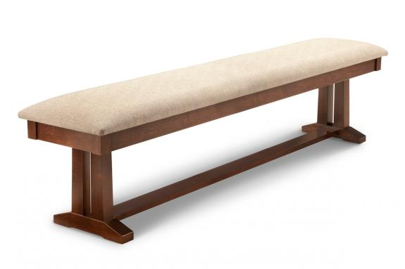 Brooklyn 72 Dining Bench Mennonite Handcrafted Furniture