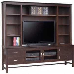 "Brooklyn 85"" TV Stand with Hutch"