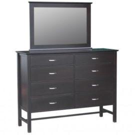 Brooklyn 8-Drawer Dresser & Mirror
