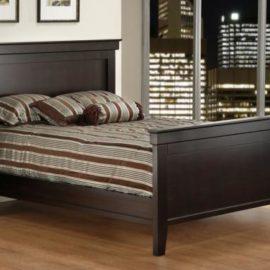 Brooklyn Bed with High Footboard