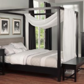 Brooklyn Canopy Bedroom Set (Queen)