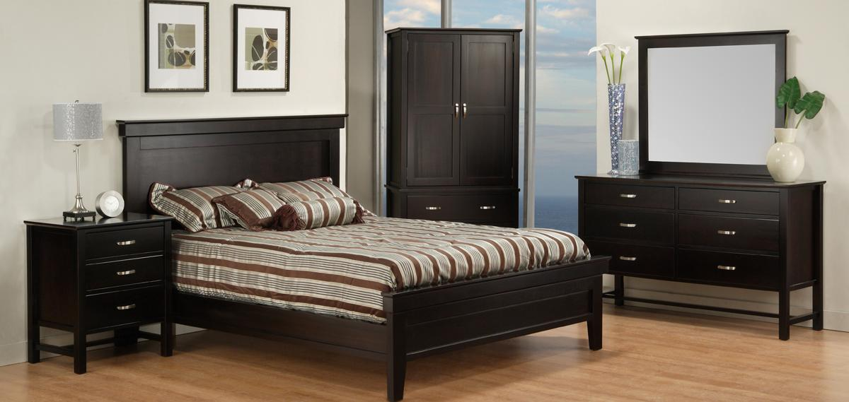 Brooklyn Panel Bedroom Set (Queen)
