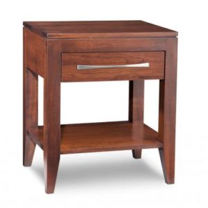 Catalina 1-Drawer Open Nightstand
