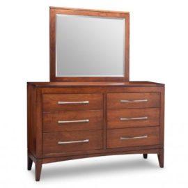 Catalina 6-Drawer Dresser & Mirror