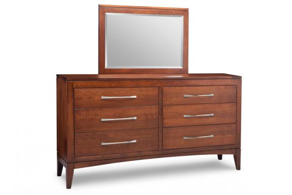 6-Drawer Long Dresser | Canadian Made Bedroom Furniture