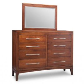 Catalina 8-Drawer High Dresser & Mirror