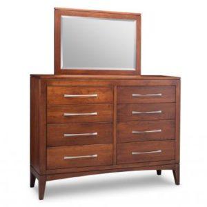 Catalina 8-Drawer High Dresser & Mirror
