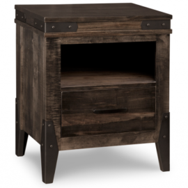 Solid Wood Nightstand