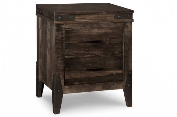 Chattanooga 2 Drawer Nightstand Solid Wood Night Tables