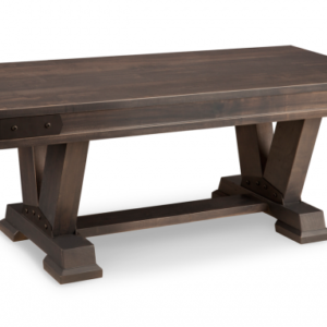 "Chattanooga 48"" Dining Bench (Pedestal)"