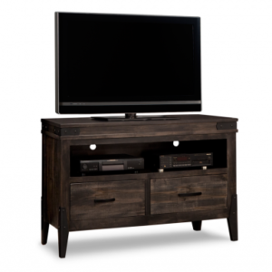 Small Wood TV Stand