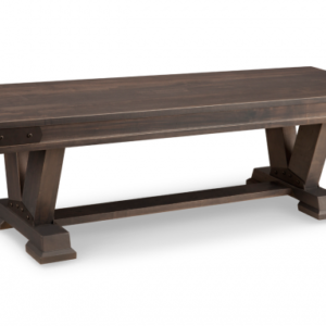 "Chattanooga 60"" Dining Bench (Pedestal)"