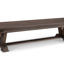 Pedestal Dining Bench