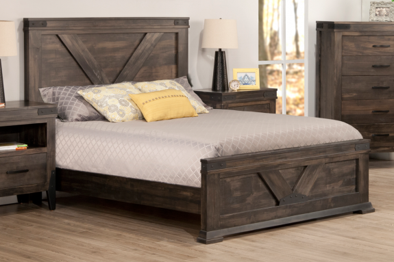 Chattanooga Bed with Low Footboard (Queen)