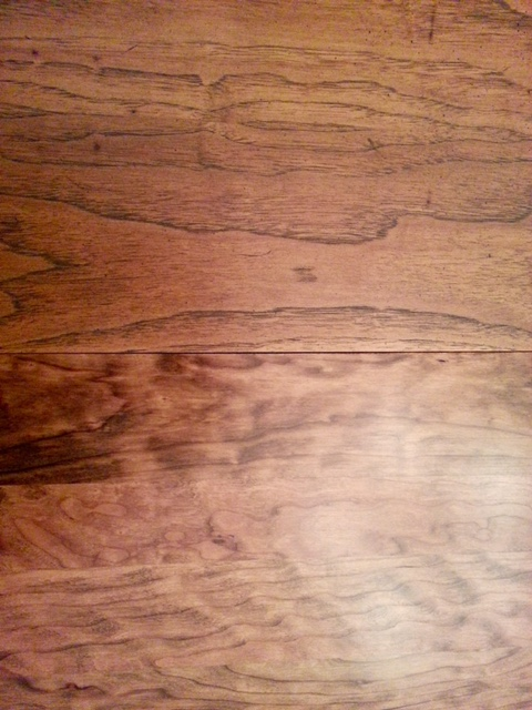 Colour Matched Solid Cherry Table to Veneer Leaf