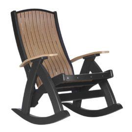 Comfort Rocker - Cedar & Black