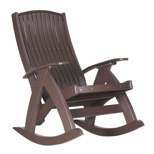 Comfort Rocker - Chestnut Brown