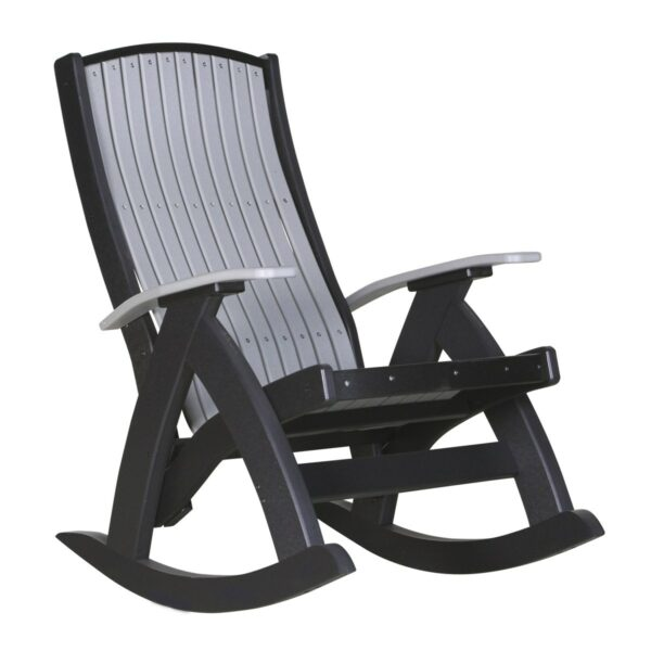 Comfort Rocker - Dove Gray & Black