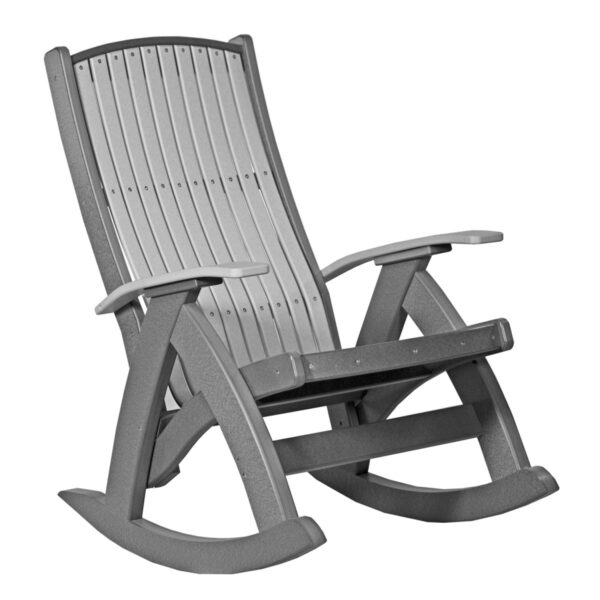 Comfort Rocker - Dove Gray & Slate