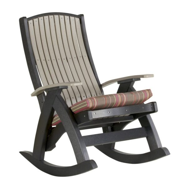 Comfort Rocker - Weatherwood & Black