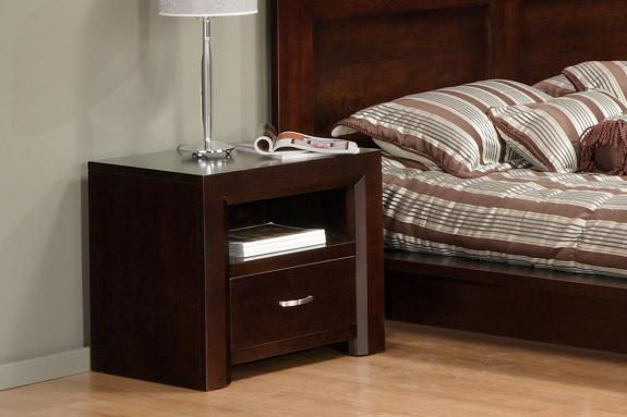 Contempo 1-Drawer Nightstand