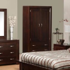 Contempo 2-Drawer 2-Door Armoire
