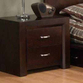 Contempo 2-Drawer Nightstand