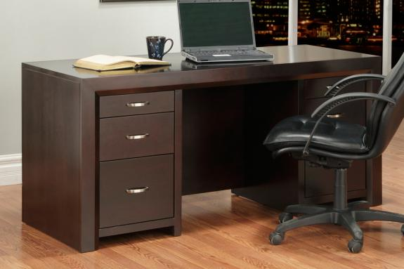 "Contempo 28"" x 64"" Executive Desk"