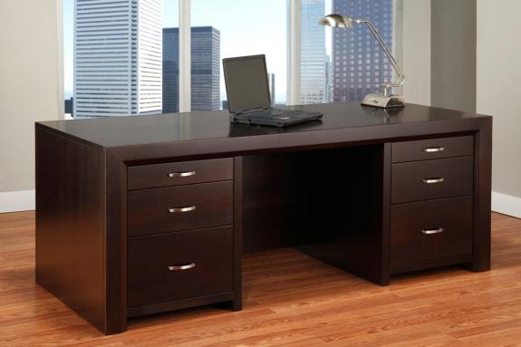 "Contempo 32"" x 72"" Executive Desk"