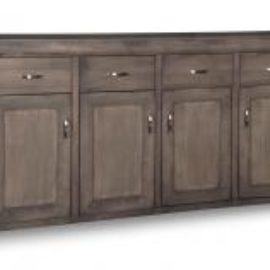 Contempo 4-Drawer 4-Door Sideboard