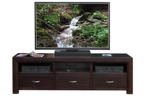 Contempo 72 Tv Stand Canadian Made Wood Furniture