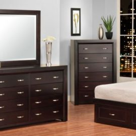 Contempo 8-Drawer High Dresser