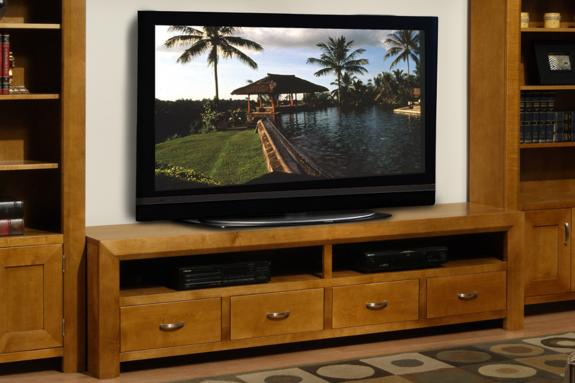 Contempo 82 Tv Stand Mennonite Handcrafted Wood Furniture