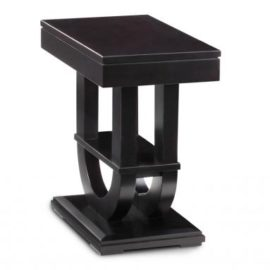 Contempo Pedestal Chair Side Table