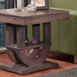 Contempo Pedestal End Table