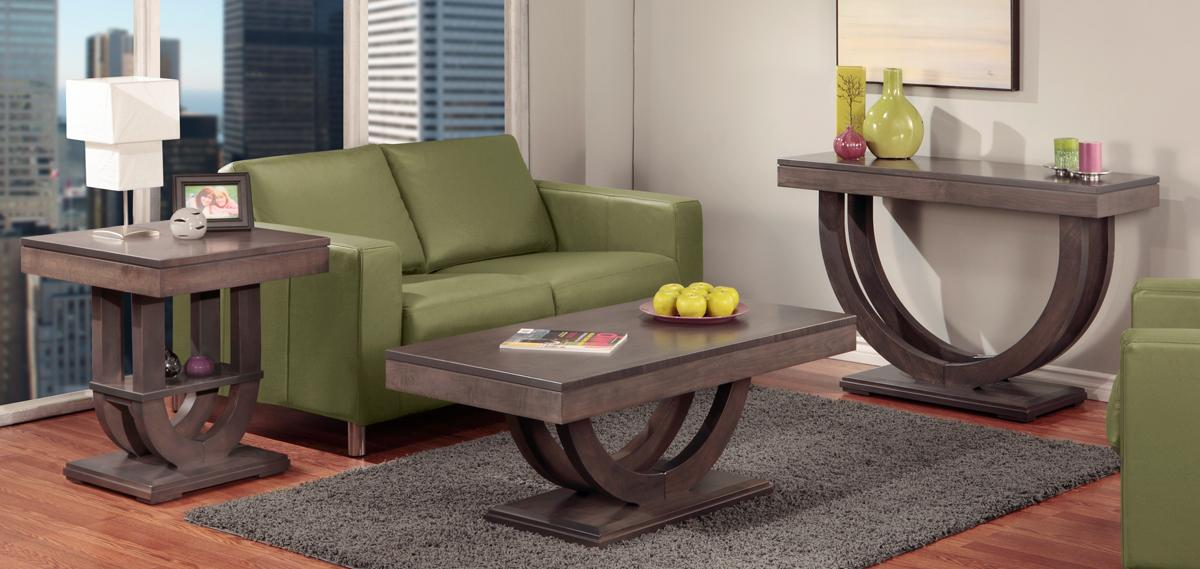 Contempo Pedestal Occasional Table Set