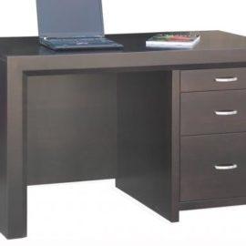 Contempo Single Pedestal Executive Desk