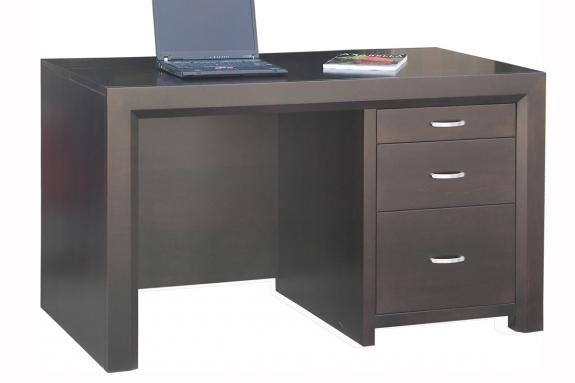 Contempo Single Pedestal Executive Desk